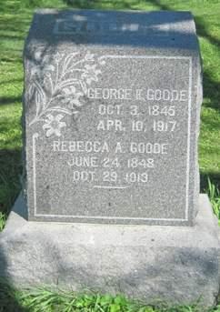 GOODE, GEORGE H. - Fayette County, Iowa | GEORGE H. GOODE