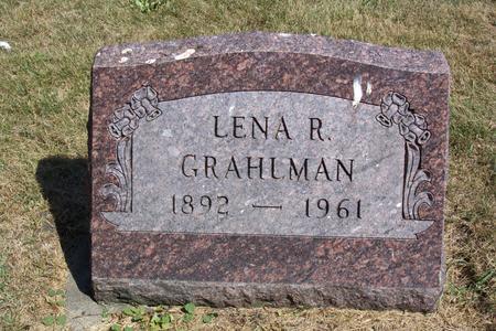GRAHLMAN (REISNER), LENA (MAGDALENA) - Fayette County, Iowa | LENA (MAGDALENA) GRAHLMAN (REISNER)
