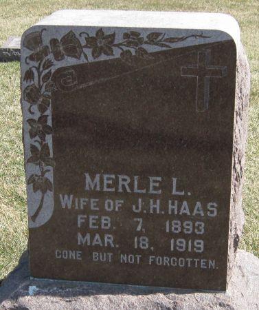 HAAS, MERLE L - Fayette County, Iowa | MERLE L HAAS