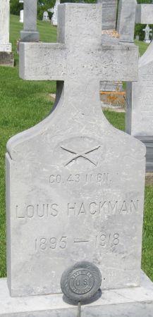 HACKMAN, LOUIS - Fayette County, Iowa | LOUIS HACKMAN