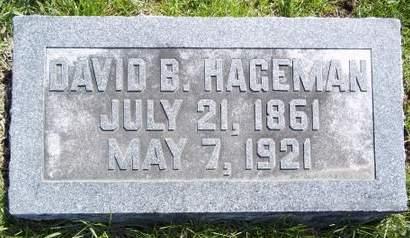 HAGEMAN, DAVID B. - Fayette County, Iowa   DAVID B. HAGEMAN