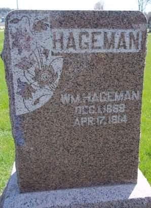 HAGEMAN, WM. - Fayette County, Iowa | WM. HAGEMAN