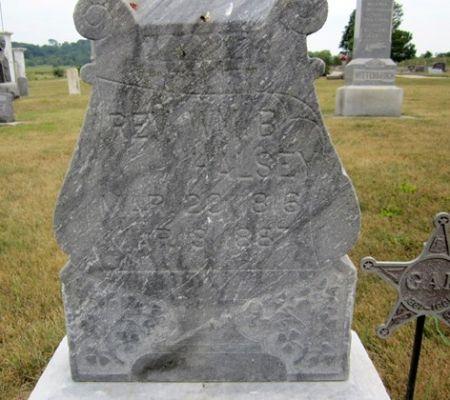 HALSEY, REV. WILLIAM B. - Fayette County, Iowa | REV. WILLIAM B. HALSEY