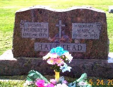 HALSTEAD, HERBERT & MARY ANN (TILLMAN) - Fayette County, Iowa | HERBERT & MARY ANN (TILLMAN) HALSTEAD