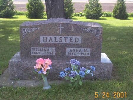 HALSTED, WILLIAM AND ANNA  (FOLEY) - Fayette County, Iowa | WILLIAM AND ANNA  (FOLEY) HALSTED