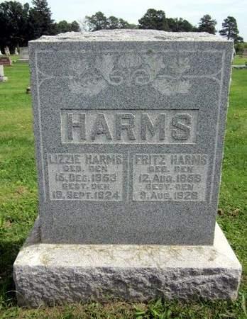 HARMS, FRITZ - Fayette County, Iowa   FRITZ HARMS
