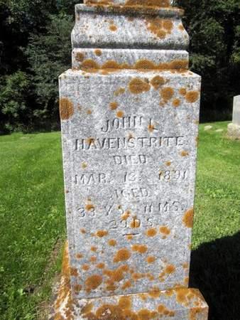 HAVENSTRITE, JOHN L. - Fayette County, Iowa | JOHN L. HAVENSTRITE