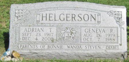 HELGERSON, ADRIAN T - Fayette County, Iowa | ADRIAN T HELGERSON