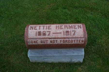 CLEM HERMEN, NETTIE - Fayette County, Iowa   NETTIE CLEM HERMEN