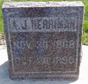HERRIMAN, A.J. - Fayette County, Iowa | A.J. HERRIMAN