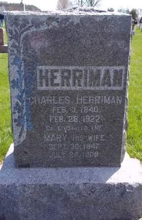 HERRIMAN, MARY - Fayette County, Iowa | MARY HERRIMAN