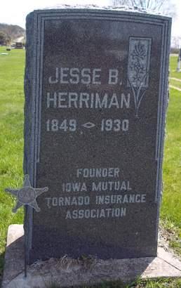 HERRIMAN, JESSE B. - Fayette County, Iowa   JESSE B. HERRIMAN