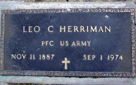 HERRIMAN, LEO C. - Fayette County, Iowa   LEO C. HERRIMAN