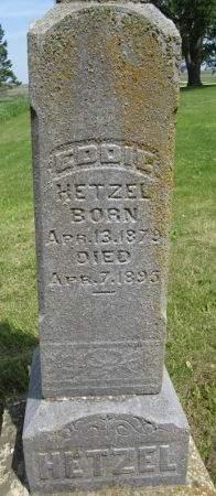 HETZEL, EDDIE - Fayette County, Iowa | EDDIE HETZEL