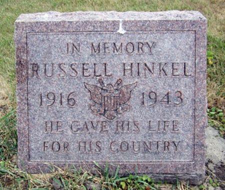 HINKEL, RUSSELL - Fayette County, Iowa   RUSSELL HINKEL