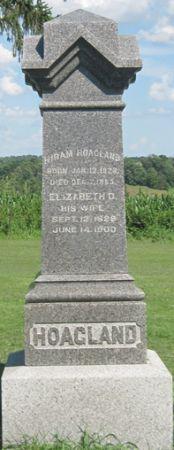 HOAGLAND, ELIZABETH D. - Fayette County, Iowa | ELIZABETH D. HOAGLAND