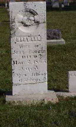 HOOVER, MARY ANN - Fayette County, Iowa   MARY ANN HOOVER