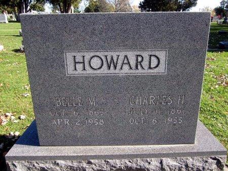 MONTGOMERY HOWARD, BELLE M. - Fayette County, Iowa | BELLE M. MONTGOMERY HOWARD