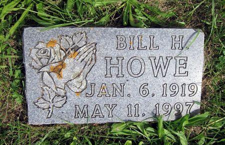 HOWE, BILL H. - Fayette County, Iowa   BILL H. HOWE