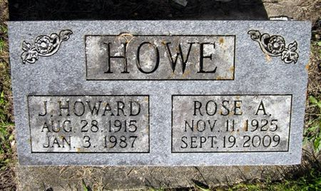 HOWE, ROSE A. - Fayette County, Iowa | ROSE A. HOWE