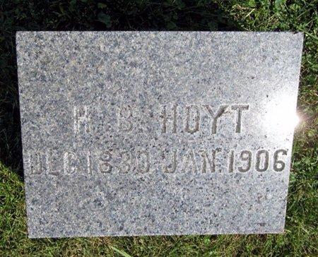 HOYT, H.B. - Fayette County, Iowa | H.B. HOYT