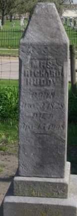 HUDDY, MRS. RICHARD - Fayette County, Iowa | MRS. RICHARD HUDDY