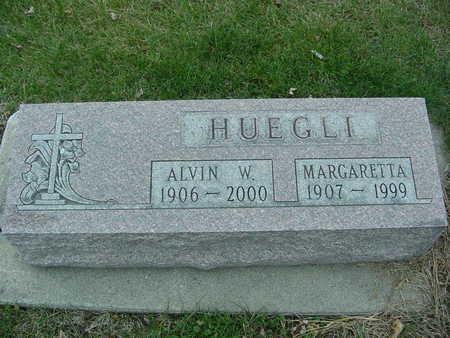 HUEGLI, ALVIN AND MARGARETTA - Fayette County, Iowa   ALVIN AND MARGARETTA HUEGLI