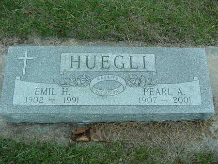 HUEGLI, EMIL AND PEARL - Fayette County, Iowa   EMIL AND PEARL HUEGLI