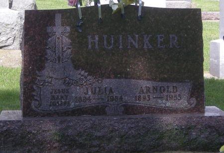 HUINKER, JULIA - Fayette County, Iowa | JULIA HUINKER