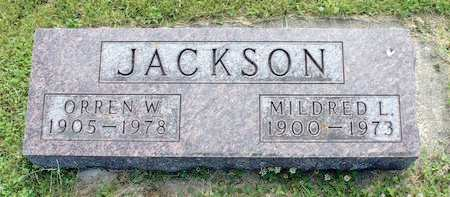 JACKSON, ORREN W. - Fayette County, Iowa | ORREN W. JACKSON