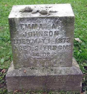 JOHNSON, EMMA A. - Fayette County, Iowa | EMMA A. JOHNSON