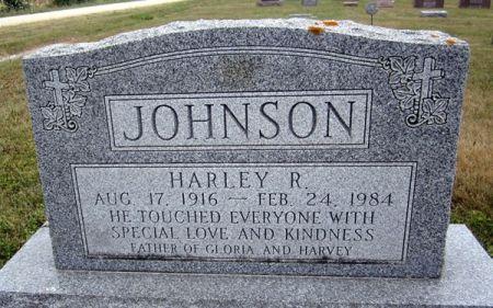 JOHNSON, HARLEY R. - Fayette County, Iowa | HARLEY R. JOHNSON