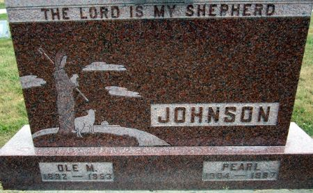 JOHNSON, PEARL - Fayette County, Iowa | PEARL JOHNSON