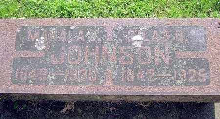 JOHNSON, SILAS B. - Fayette County, Iowa   SILAS B. JOHNSON