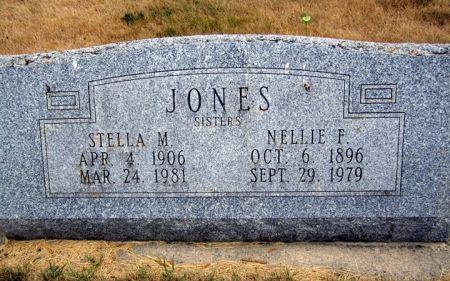 JONES, NELLIE F. - Fayette County, Iowa | NELLIE F. JONES
