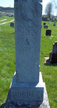 JORDAN, MARY C. - Fayette County, Iowa   MARY C. JORDAN