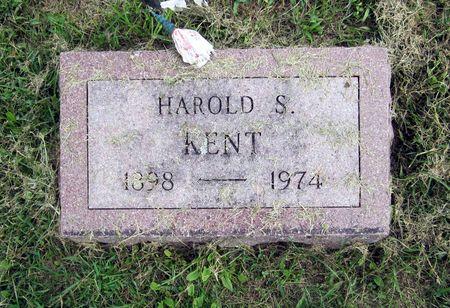 KENT, HAROLD S. - Fayette County, Iowa | HAROLD S. KENT