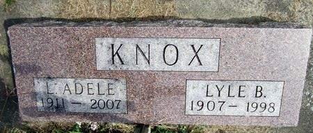 KNOX, LULA ADELE - Fayette County, Iowa | LULA ADELE KNOX
