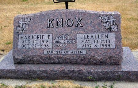 KNOX, LEALLEN - Fayette County, Iowa | LEALLEN KNOX
