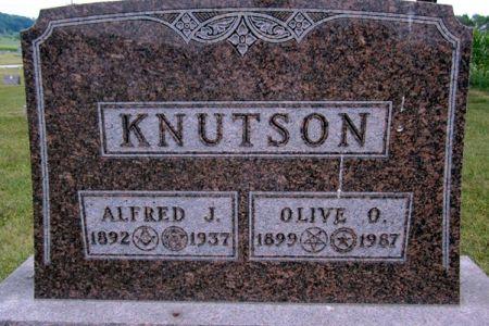 KNUTSON, OLIVE O. - Fayette County, Iowa | OLIVE O. KNUTSON