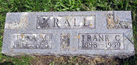 KRALL, FRANK C. - Fayette County, Iowa | FRANK C. KRALL