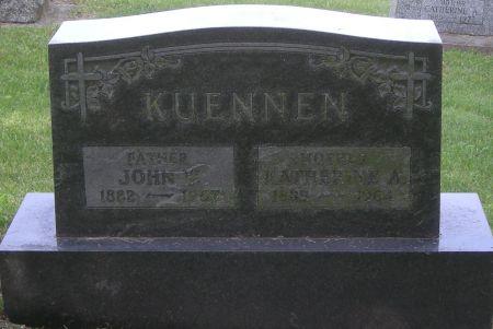 KUENNEN, JOHN W - Fayette County, Iowa | JOHN W KUENNEN