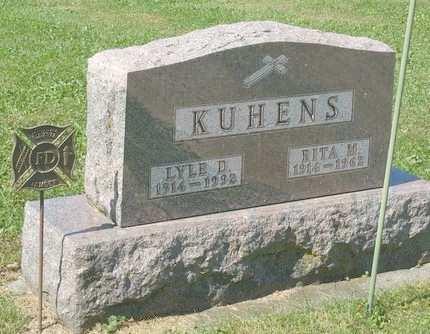 KUHENS, LYLE D - Fayette County, Iowa   LYLE D KUHENS
