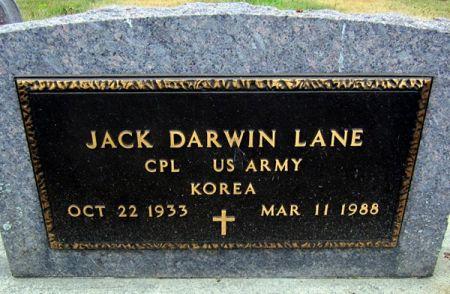 LANE, JACK DARWIN - Fayette County, Iowa | JACK DARWIN LANE