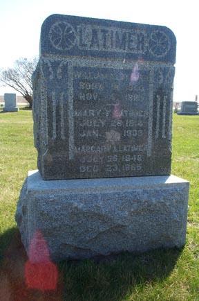 LATIMER, MARGARY A. - Fayette County, Iowa | MARGARY A. LATIMER