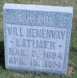 LATIMER, WILL HEMENWAY - Fayette County, Iowa | WILL HEMENWAY LATIMER