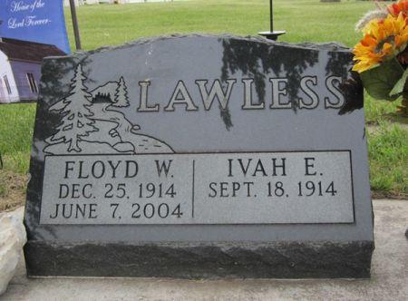 LAWLESS, FLOYD W. - Fayette County, Iowa   FLOYD W. LAWLESS
