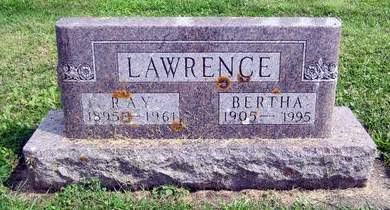LAWRENCE, RAY - Fayette County, Iowa | RAY LAWRENCE