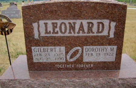 LEONARD, GILBERT L. - Fayette County, Iowa | GILBERT L. LEONARD