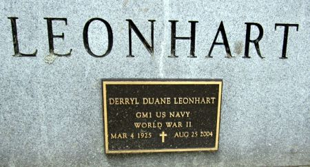 LEONHART, DERRYL DUANE - Fayette County, Iowa | DERRYL DUANE LEONHART